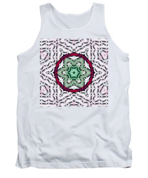 Tank Top featuring the photograph Mandala 7 by Terry Reynoldson