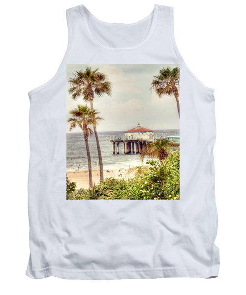Manhattan Beach Pier Tank Top