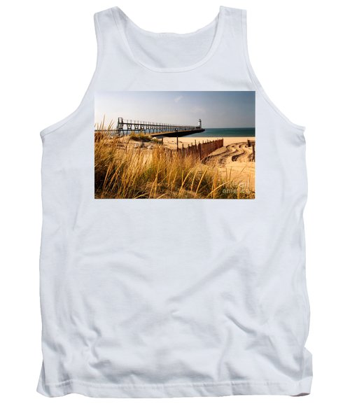 Manistee Lighthouse Tank Top