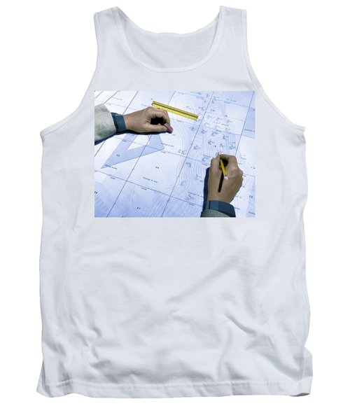 Map Used To Predict Location Of Oil Tank Top