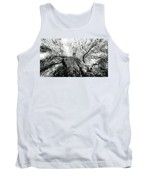 Tank Top featuring the photograph Maple Tree Inkblot by CML Brown
