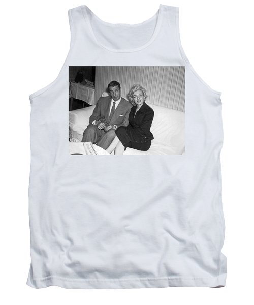Marilyn Monroe And Joe Dimaggio Tank Top