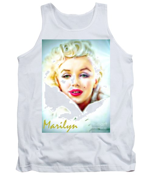 Marilyn Monroe Tank Top by Barbara Chichester