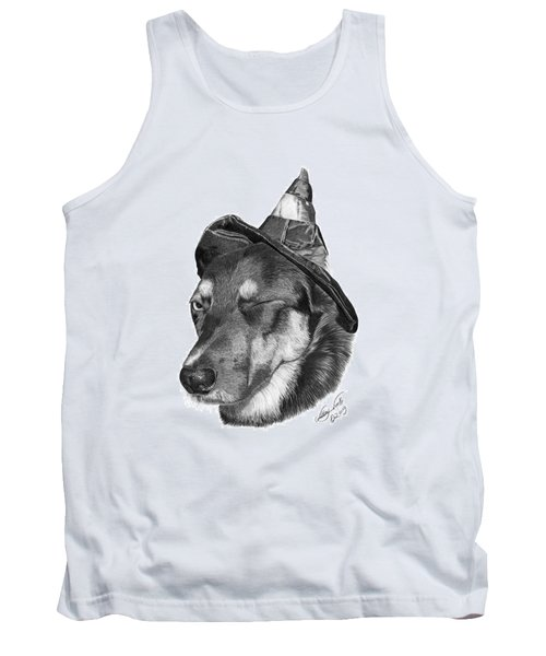 Marlee In Witch's Hat -021 Tank Top