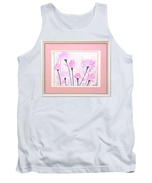 Marsh Flowers Tank Top