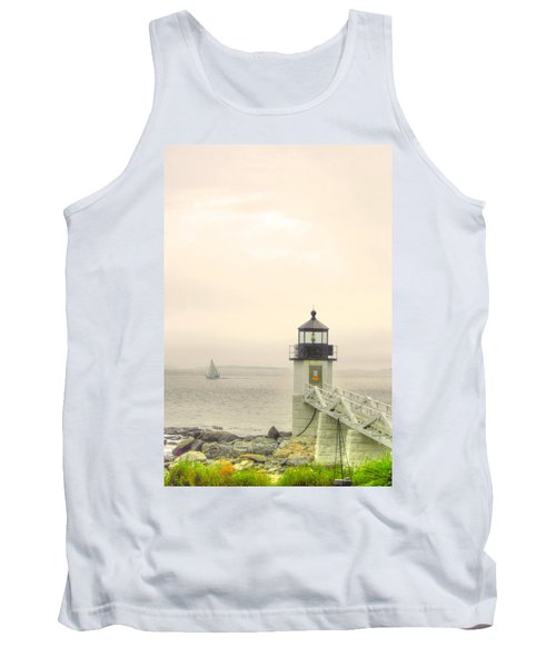 Marshall Point Lighthouse In Maine Tank Top