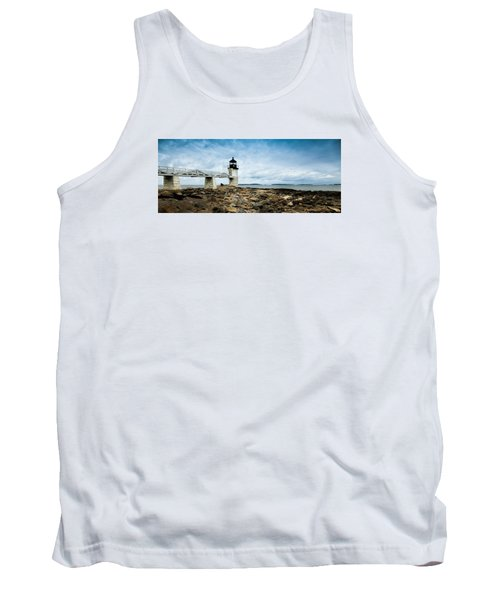 Marshall Point Lighthouse Panoramic Tank Top