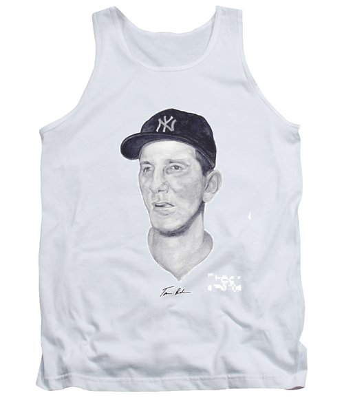 Tank Top featuring the painting Martin by Tamir Barkan