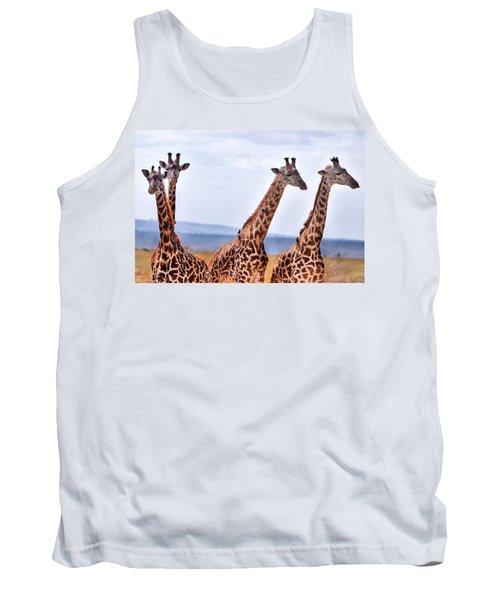 Masai Giraffe Tank Top
