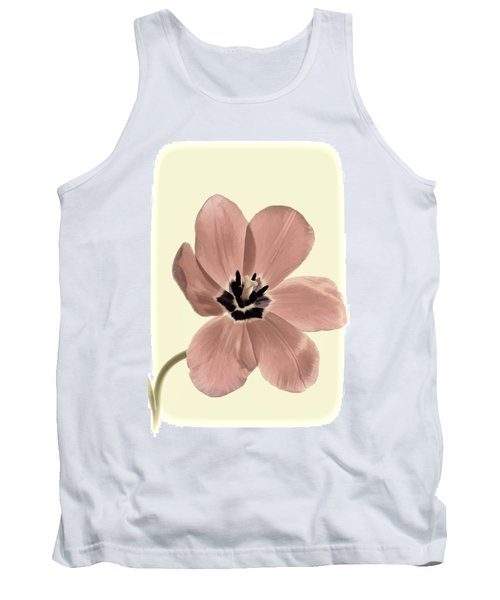 Mauve Tulip Transparency Tank Top