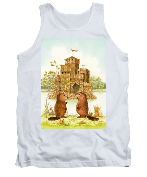 Mclodge Tank Top by Lynn Bywaters