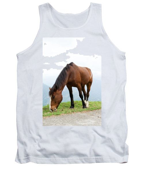 Tank Top featuring the photograph Meal Time by Yew Kwang