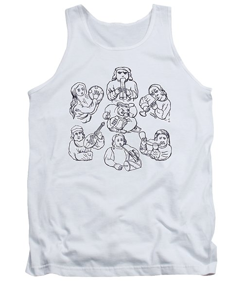 Medieval Musicians Tank Top