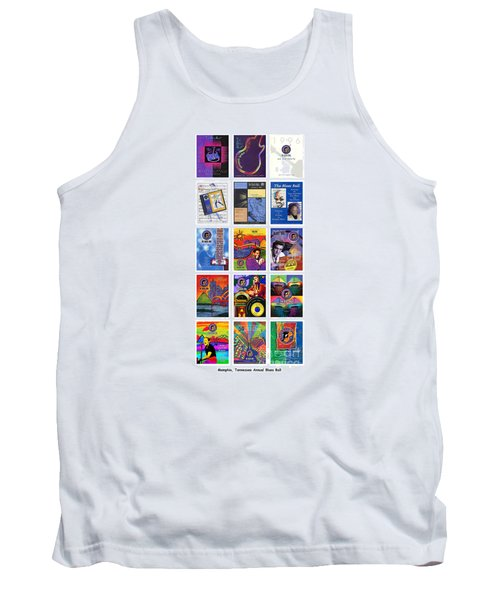 Posters Of Music Tank Top by David Bearden