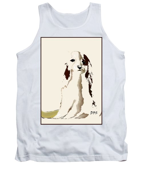 Mercedes  - Our Cavalier King Charles Spaniel  No. 9 Tank Top