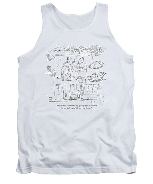 Meritocracy Worked For My Grandfather Tank Top