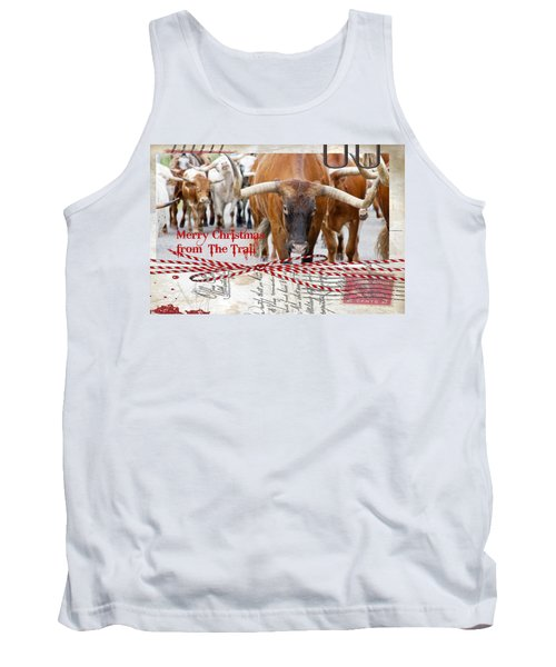Merry Christmas From The Trail Tank Top