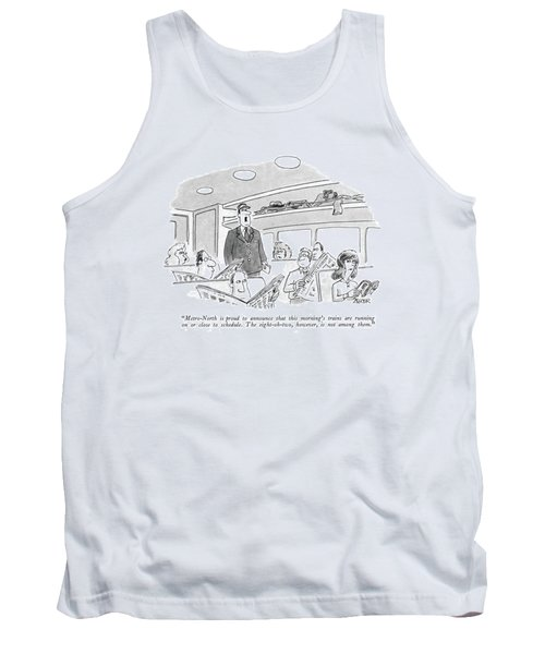 Metro-north Is Proud To Announce That This Tank Top