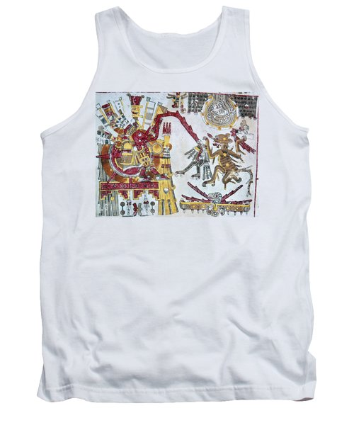 Mexico Aztec Ceremony Tank Top