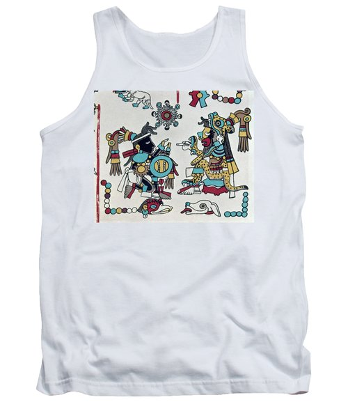 Mexico Mixtec Rulers Tank Top