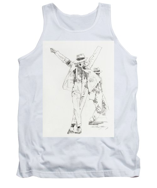 Michael Smooth Criminal Tank Top