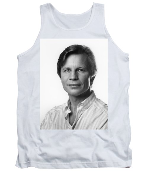 Tank Top featuring the photograph Michael York by Mark Greenberg