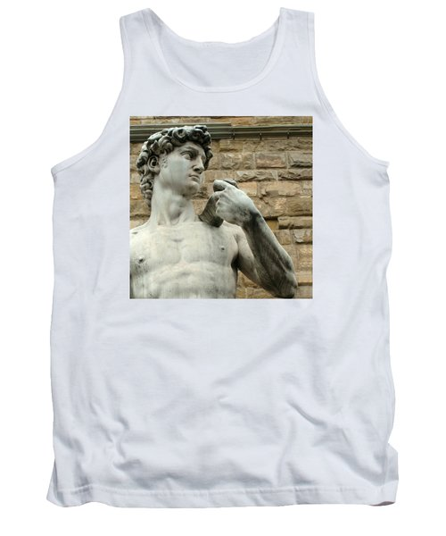 Michelangelo's David 1 Tank Top