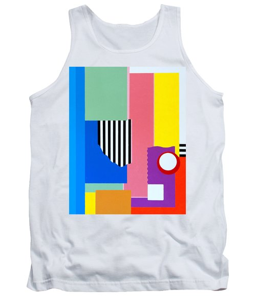Mid Century Compromise Tank Top by Thomas Gronowski