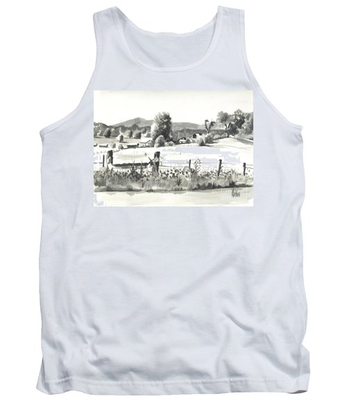 Midsummer View Out Route Jj   No I101 Tank Top