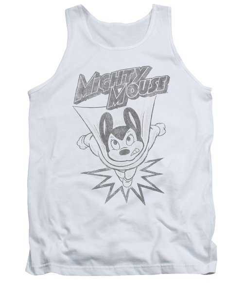Mighty Mouse - Bursting Out Tank Top
