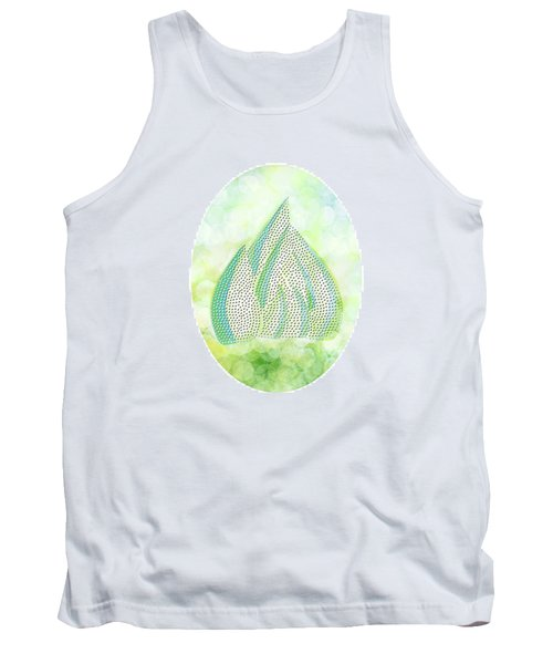 Mini Forest Illustration Tank Top by Lenny Carter