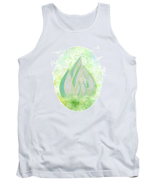 Mini Forest With Birds In Flight - Illustration Tank Top