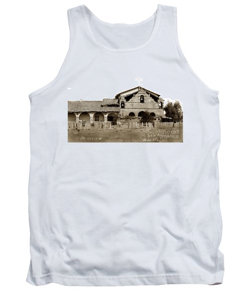 Mission San Antonio De Padua California Circa 1885 Tank Top by California Views Mr Pat Hathaway Archives