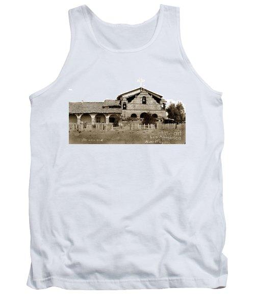 Mission San Antonio De Padua California Circa 1885 Tank Top