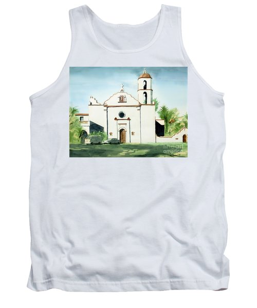 Mission San Luis Rey Colorful II Tank Top