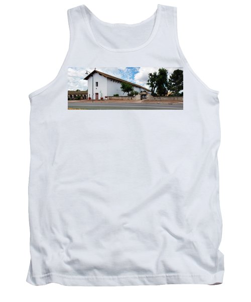 Mission San Miguel Church At Roadside Tank Top