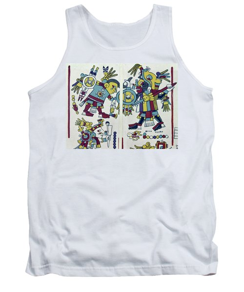 Mixtec King & Prisoner Tank Top