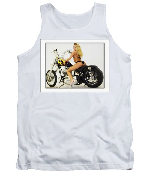 Models And Motorcycles_k Tank Top