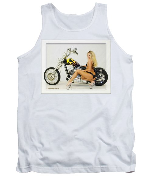 Models And Motorcycles_l Tank Top