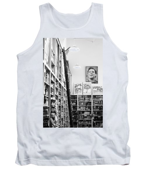 Modica Market - Black And White Tank Top by Shelby  Young