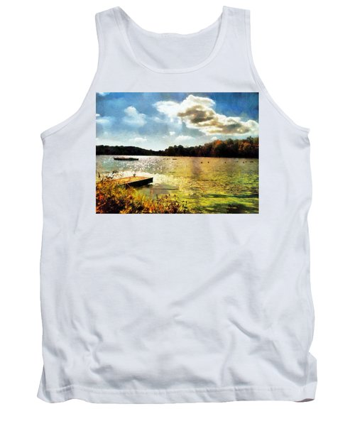 Mohegan Lake Gold Tank Top