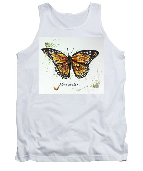 Monarchs - Butterfly Tank Top by Katharina Filus