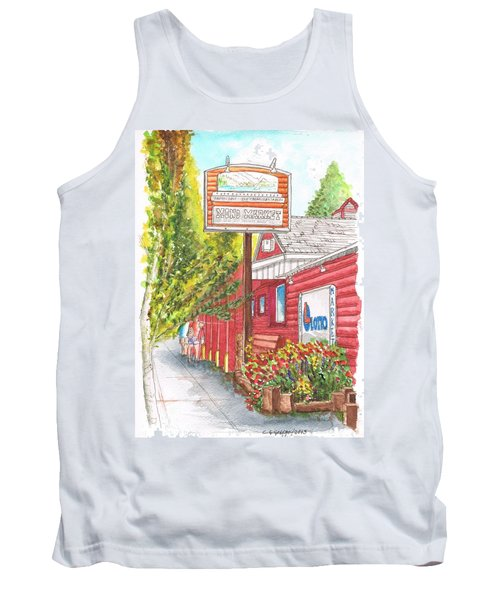 Mono Market Near Mono Lake In Lee Vining-california Tank Top