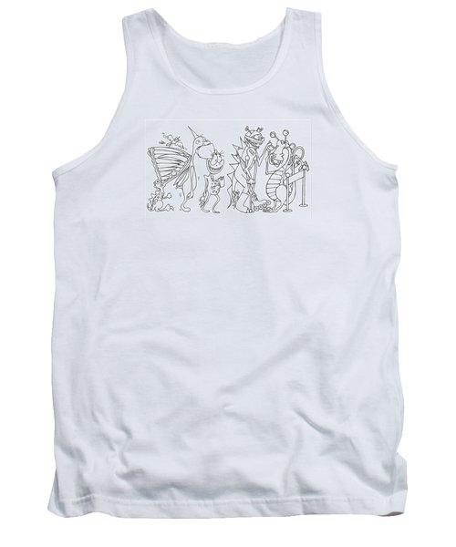 Monster  Queue Tank Top