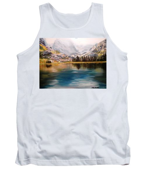 Montana Reflections Tank Top by Patti Gordon