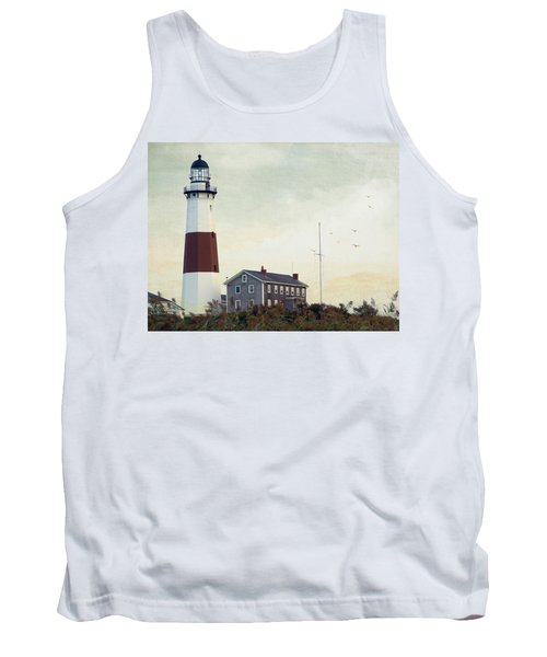 Montauk Dusk Tank Top by Keith Armstrong