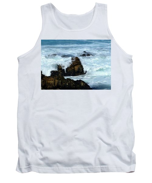 Tank Top featuring the photograph Monterey-2 by Dean Ferreira