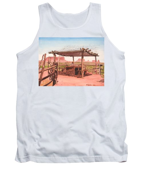 Monument Valley Overlook Tank Top by Mike Robles