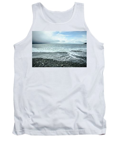 Moody Waves French Beach Tank Top