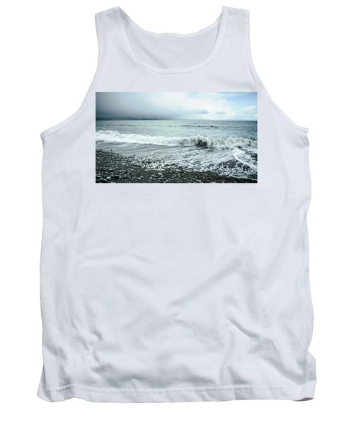 Moody Shoreline French Beach Tank Top